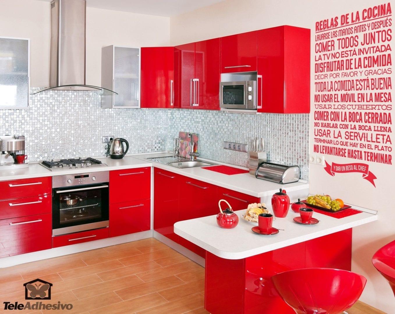 Cocinova vinilos para cocina vinilos decorativos reglas de for Vinilos decorativos pared cocina