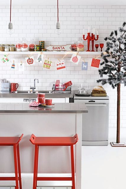 Cocinova c mo decorar la cocina en navidad cocinova for Monta tu cocina
