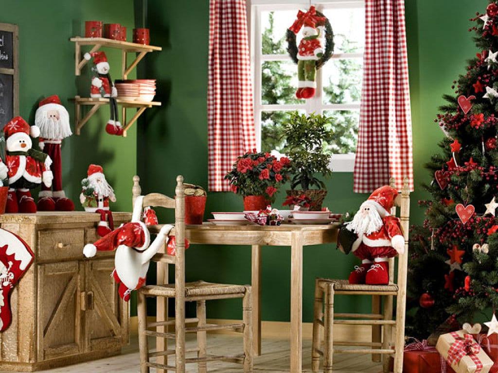 Cocinova c mo decorar la cocina en navidad cocinova - Como decorar las paredes de la cocina ...