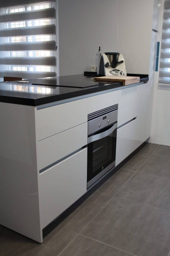 Tiradores de puertas de cocina perfect tiradores puertas correderas inox ref with tiradores de - Tiradores de puertas de cocina ...