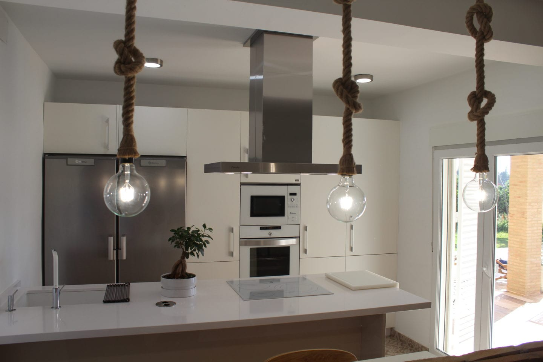 Cocinova decoraci n de cocinas modernas covinova cocinas - Decoracion cocinas alargadas ...